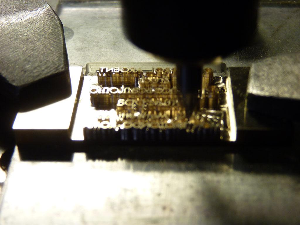 lavorazioni e incisioni di metalli padova